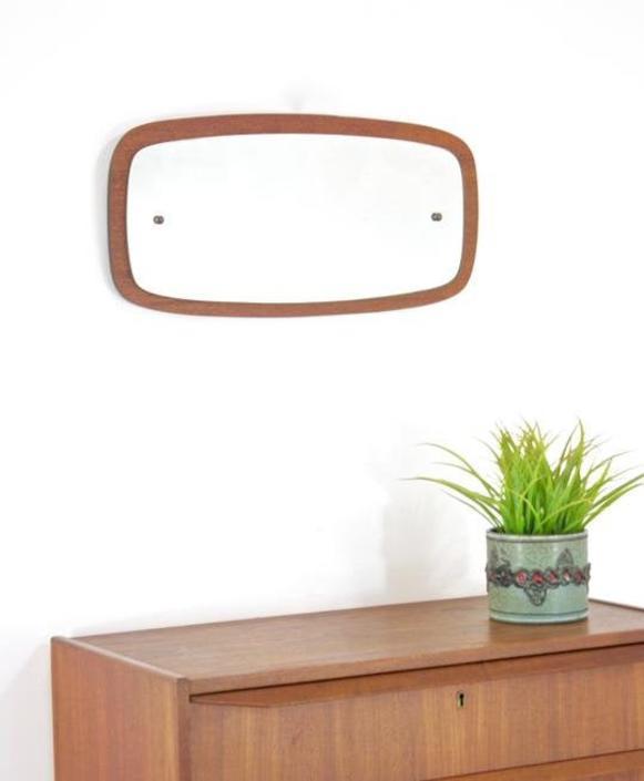 mid century mirror......danish by SputnikFurnitureLLC