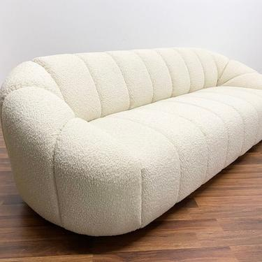 Hand-Crafted Pauline Style Channel Sofa ( Custom listing for Jen ) by WestCoastModernLA