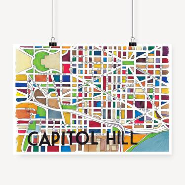Capitol Hill Print