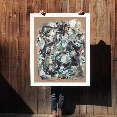 All Around.  extra large wall art . giclee print by ClareElsaesser