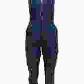 7 For All Mankind - Dark Wash Denim Zip-Up Sleeveless Jumpsuit Sz XS