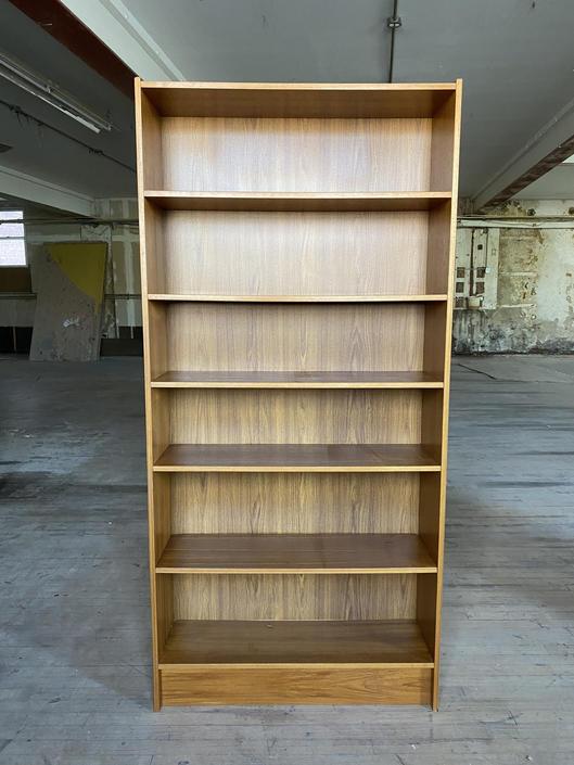 Amazing original danish teak mid century modern bookcase book shelf shelves clean denmark by symmetrymodern