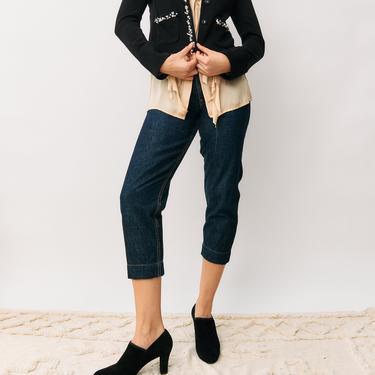 Jesse Kamm High-Waisted Jeans, Size 6