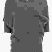 Vince - Grey Short Sleeve Oversized Sweater Sz XS