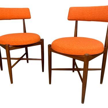 Pair of Vintage British Mid Century Modern Teak Accent Chairs by G Plan by AymerickModern