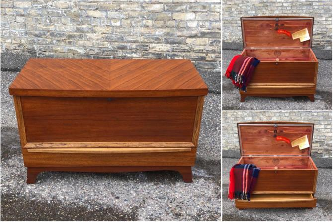1951 Cedar Chest With Drawer