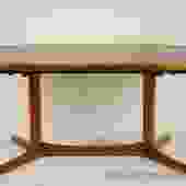 Dyrlund Teak Oval Dining Table