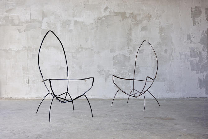 Tony Paul Sling Chair Frames by FandFVintage