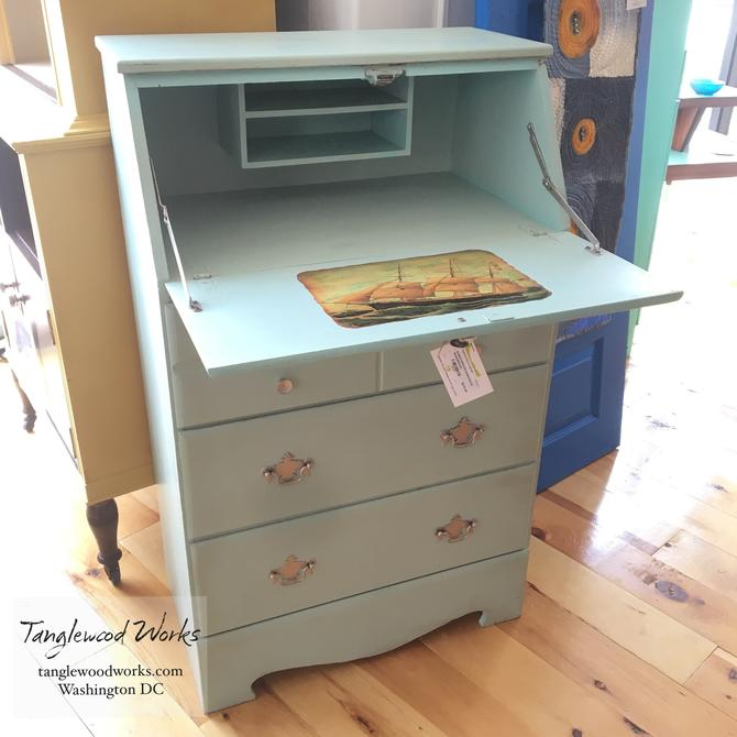 Vintage Child S Drop Down Desk From Tanglewood Works Attic