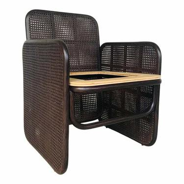 Jamie Durie for Baker / McGuire Brown Caned Panel Chair