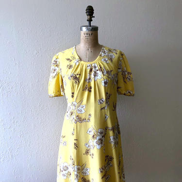 1930s 1940s tunic . vintage 30s 40s dress by BlueFennel
