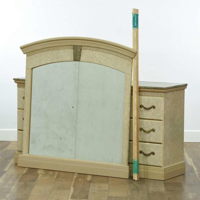 Good Companies Neoclassical Marble-Look Dresser