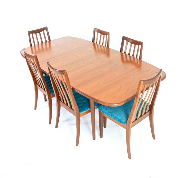 Mid Century Dining Table & 6 Chairs by G Plan by SputnikFurnitureLLC