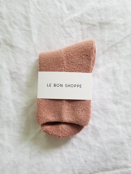 Le Bon Shoppe Cloud Socks - Mulberry