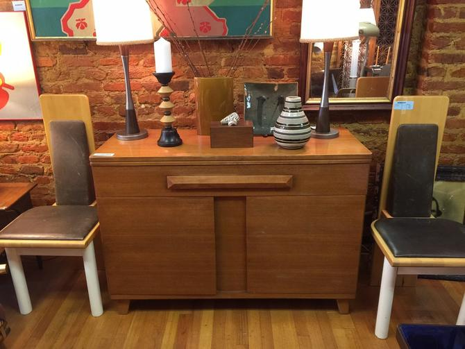 Vintage Tri Bond Credenza - Pickup and delivery to selected cities by UrbanInteriorsBalt