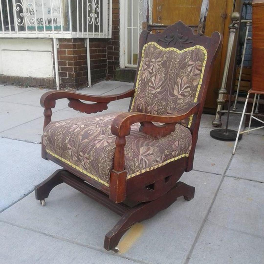 Antique Spring Rocker From Bentley S Vintage Furniture Of