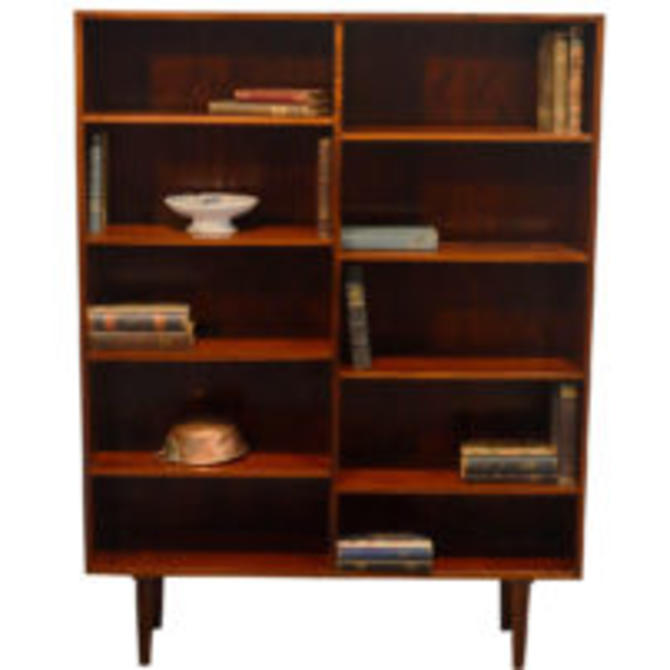 15316 Danish Modern Reol System Rosewood Bookcase, circa 1960 SOLD
