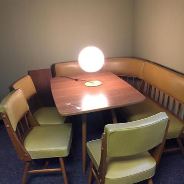 Vintage wraparound table set