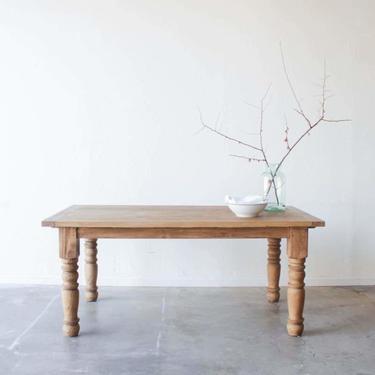Reclaimed Wood Farm Table   Floor Sample
