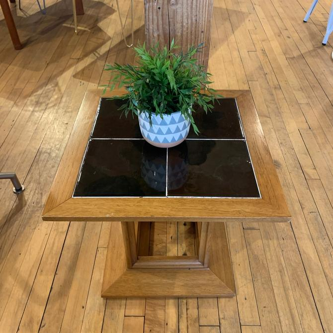 Drexel Side Table w/ Tile Inlay