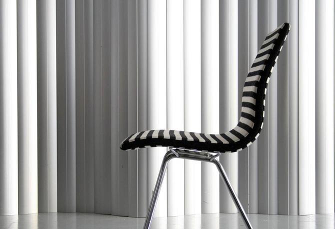 Striped Upholstered Task / Desk Chair