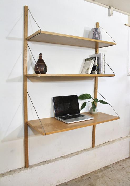 White Oak Shelving Unit