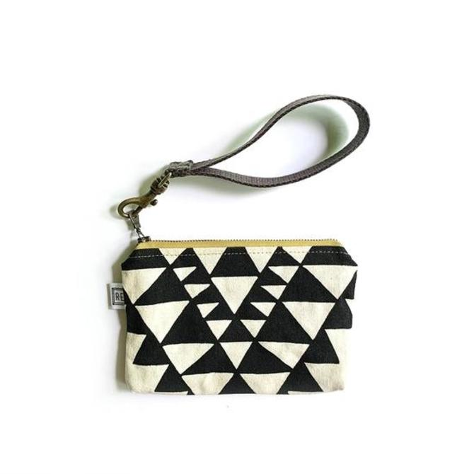 "Mini Wristlet in ""Bowtie"" Print"