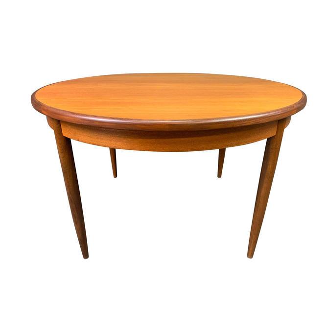 Vintage British Mid Century Modern Teak Round Dining Table by G Plan by AymerickModern