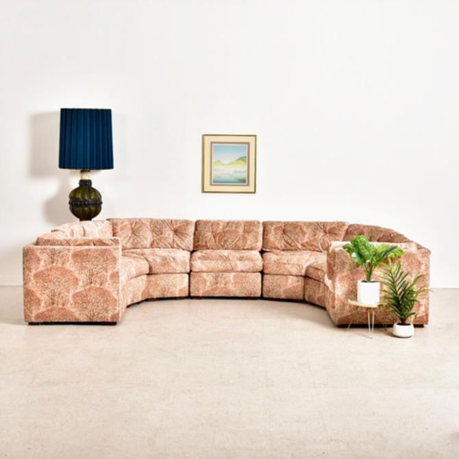 1970's Vintage Circle Sofa