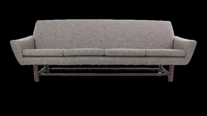 Classic Scaninavian Modern Four-Place Sofa by Dux