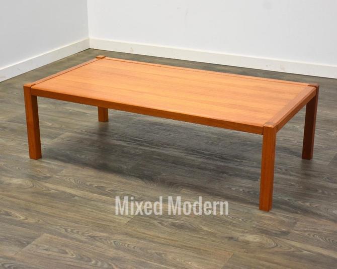 Danish Teak Coffee Table by mixedmodern1