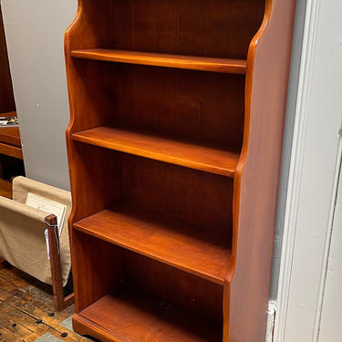Solid Maple Bookcase by Cushman Furniture Co. 1930s