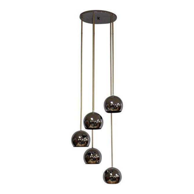 Mid Century Chrome Ball Lighting by mixedmodern1