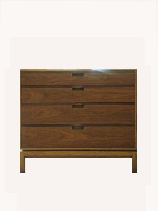 4 Drawer Mid Century Dresser — 0666