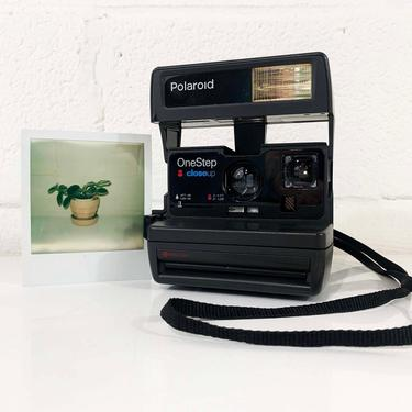 Vintage Polaroid OneStep CloseUp Camera 600 Instant Film Photography Tested Working Believe in Film Polaroid Originals 1990s 90s by CheckEngineVintage