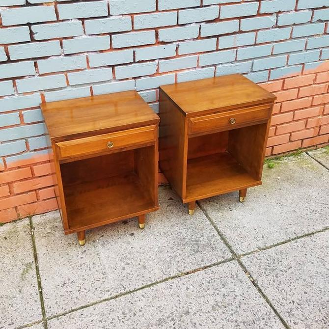 Baumritter Night Stands, $187, pair.