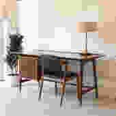 """Sleek """"Martin"""" Desk in Walnut"""
