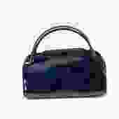 Longchamp Leather & Suede Handbag
