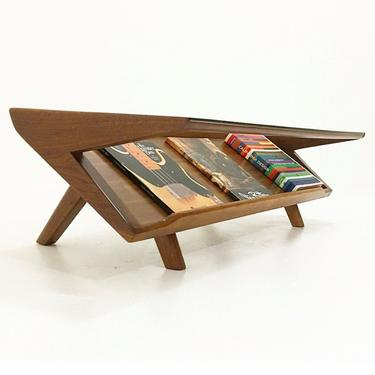 Magazine Coffee Table by CaliforniaMWoodworks