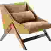"""Boomerang"" Lounge Chair"