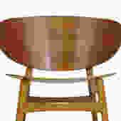 Early Hans Wegner Shell Chair for by Fritz Hansen