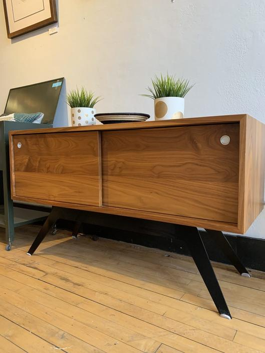 Media Cabinet by Eastvold Furniture in Walnut