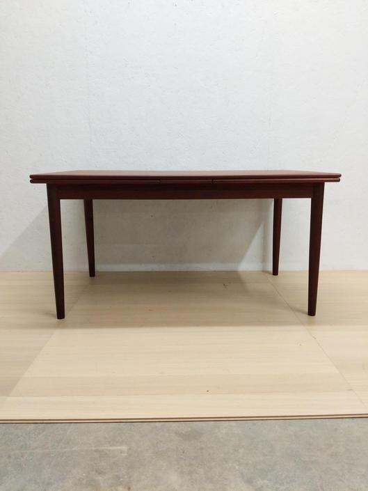 Vintage Danish Modern Teak Dining Table by FarOutFindsNYC