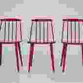 Set of 3 Chairs - Folke Palsson for FDB Mobler