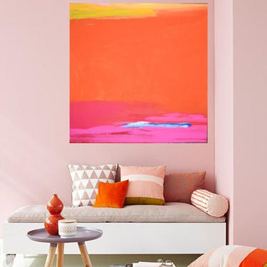 """Custom Order for MARGARET Irons Only Oversized  36"""" x 48"""" Canvas Painting Abstract Minimalist Modern Original Contemporary Artwork by ArtbyDinaD"""