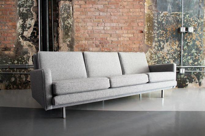 "Original George Nelson ""Loose Cushion"" Sofa by Herman Miller"