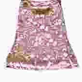 Marc Jacobs - Pink Velvet Floral Midi Skirt Sz 2