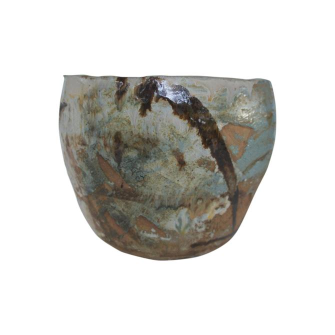 Japanese Art Pottery Garden Planter by MetronomeVintage