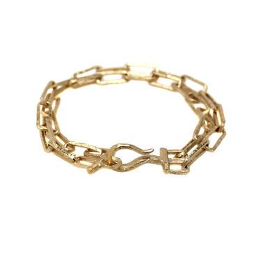 Gravel Ravine Chunky Weathered Chain Bracelet