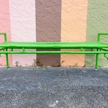 Meadowcraft Faux Bamboo Bench